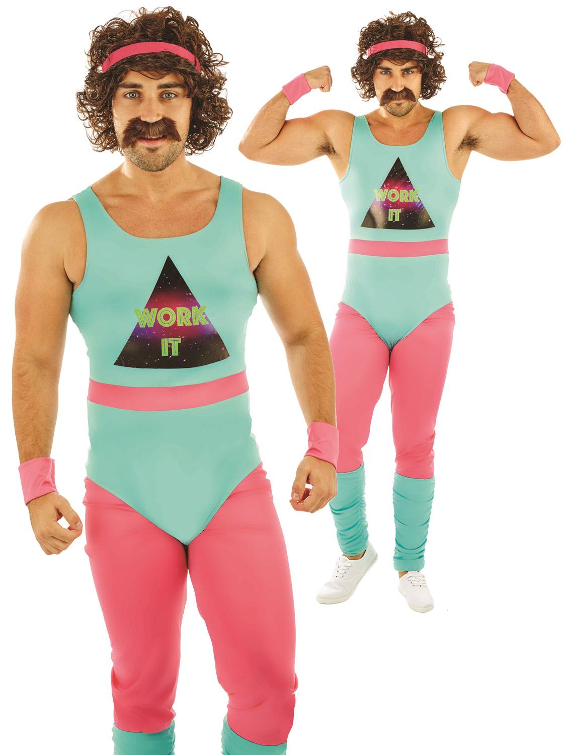 Men's 80s Fitness Instructor Costume | All Mens | Fancy ...