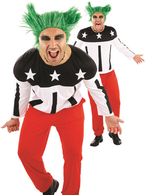 Men's 90s Rave Starter Costume