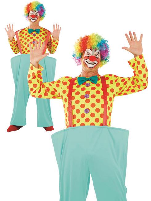 Men's Clown Costume