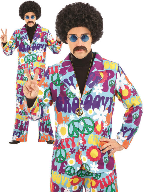 Men's Groovy Hippie Suit