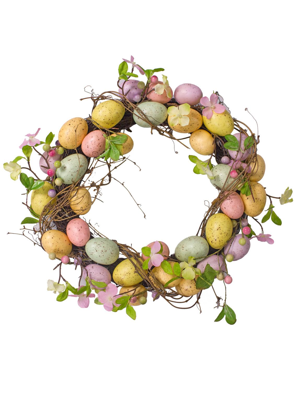 Gisela-Graham-Primavera-Corona-Decoracion-de-Mesa-de-huevos-de-Pascua-Flores-Casa-Puerta-Floral miniatura 23