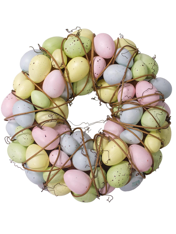 Gisela-Graham-Primavera-Corona-Decoracion-de-Mesa-de-huevos-de-Pascua-Flores-Casa-Puerta-Floral miniatura 21