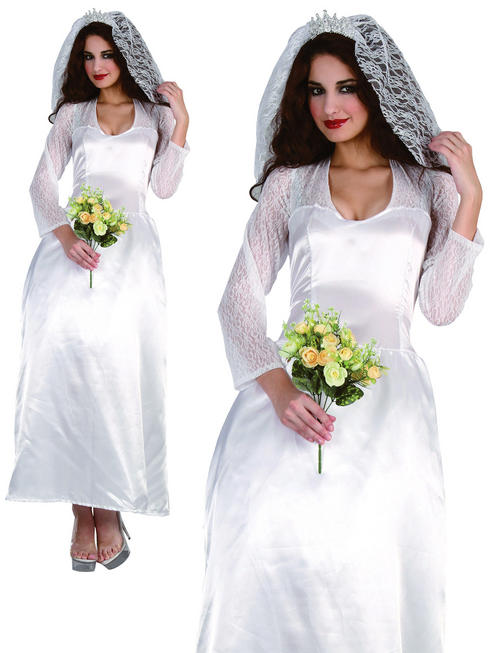 Ladies Royal Bride Costume