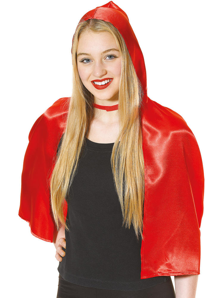 Ladies Red Riding Hood Cape