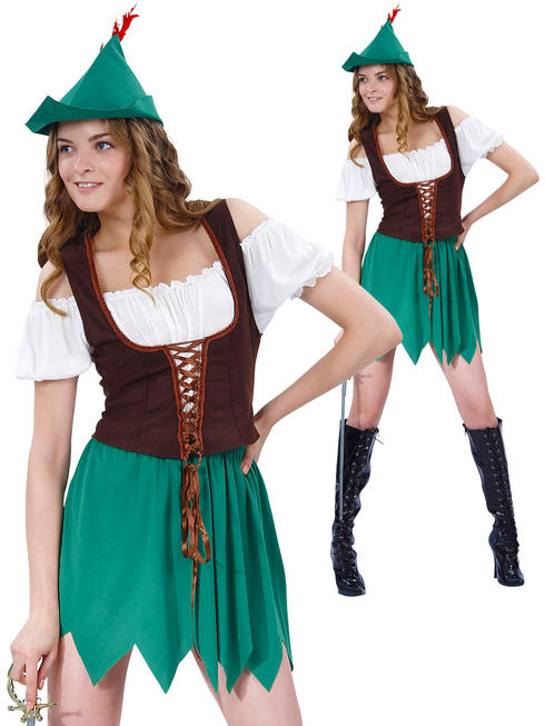 Ladies Budget Robin Hood Costume