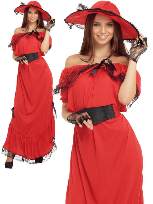 Ladies Scarlet O' Hara Costume
