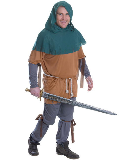 Men's Little John Costume