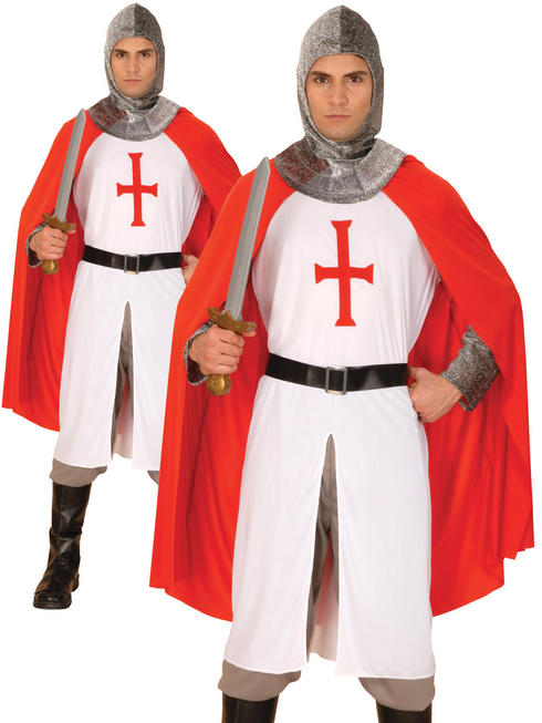 Men's Knight Crusader Costume