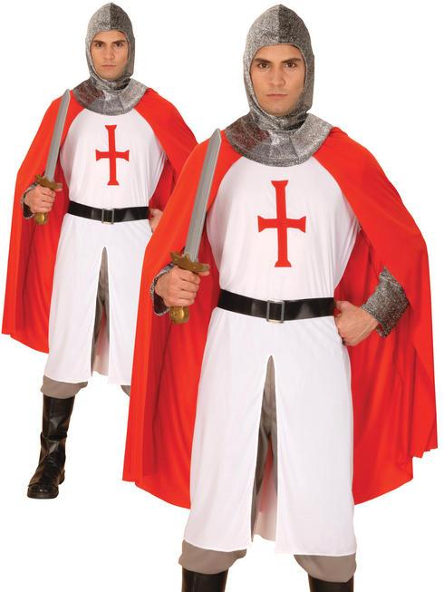 Men's Knight Crusader Costume