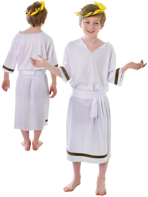Boy's Greek Toga Costume