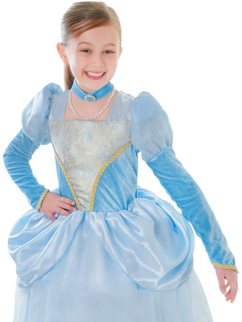 Girl's Blue Princess Costume