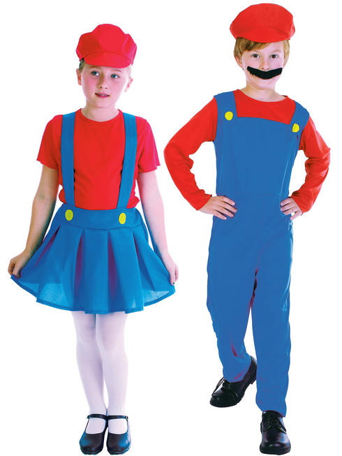 Child's Plumber Costume