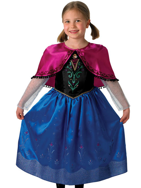Girl's Deluxe Anna Costume