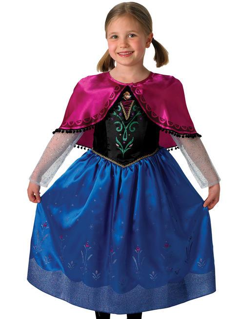Girl's Deluxe Anna Costume