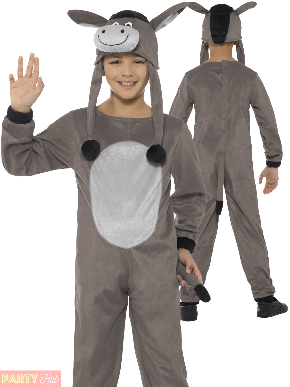 Kids deluxe donkey nativity play costume boys girls animal farm kids deluxe donkey nativity play costume boys girls solutioingenieria Images