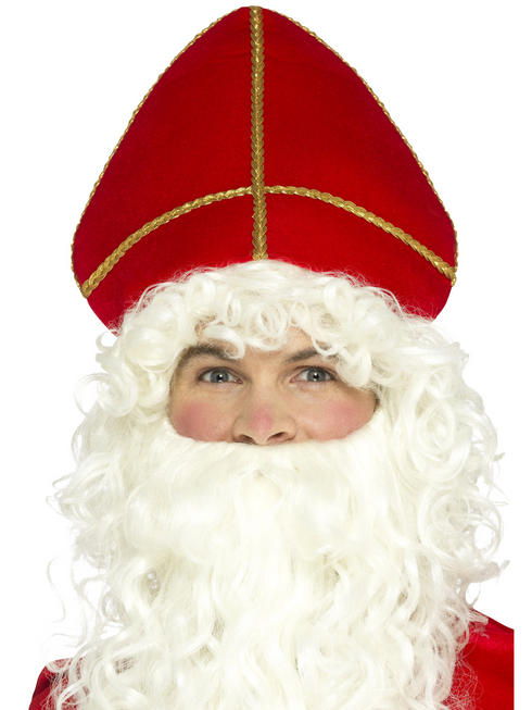 Adult's Santa Saint Nicholas Hat