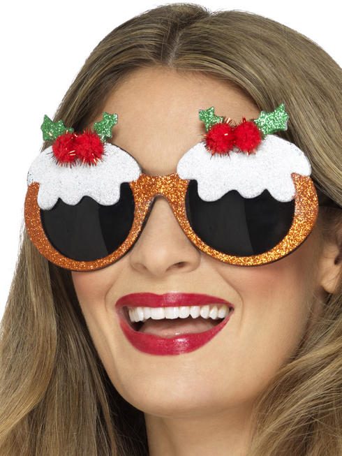 Xmas Pudding Glasses