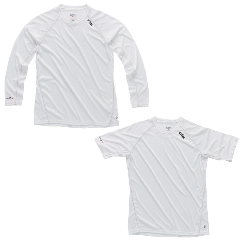 Gill Race Collection - Short / Long Sleeve Tee - White