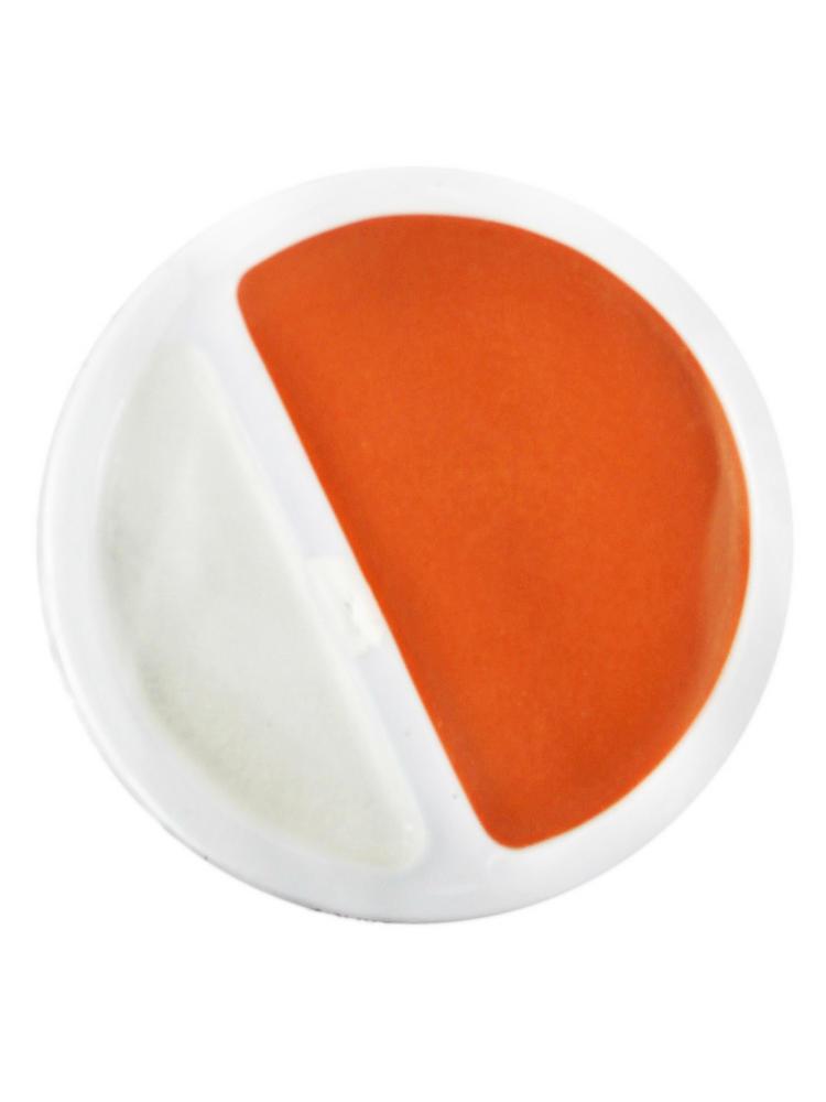 Orange & White Face / Body Paint