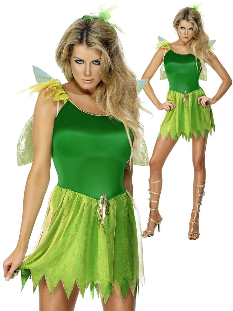 Ladies Woodland Fairy Costume
