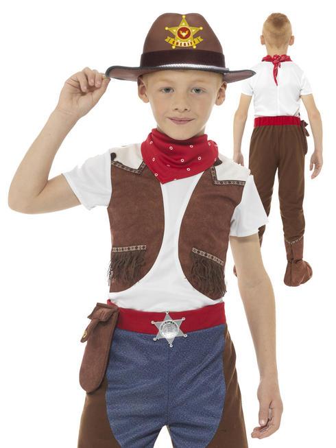 Boy's Deluxe Cowboy Costume
