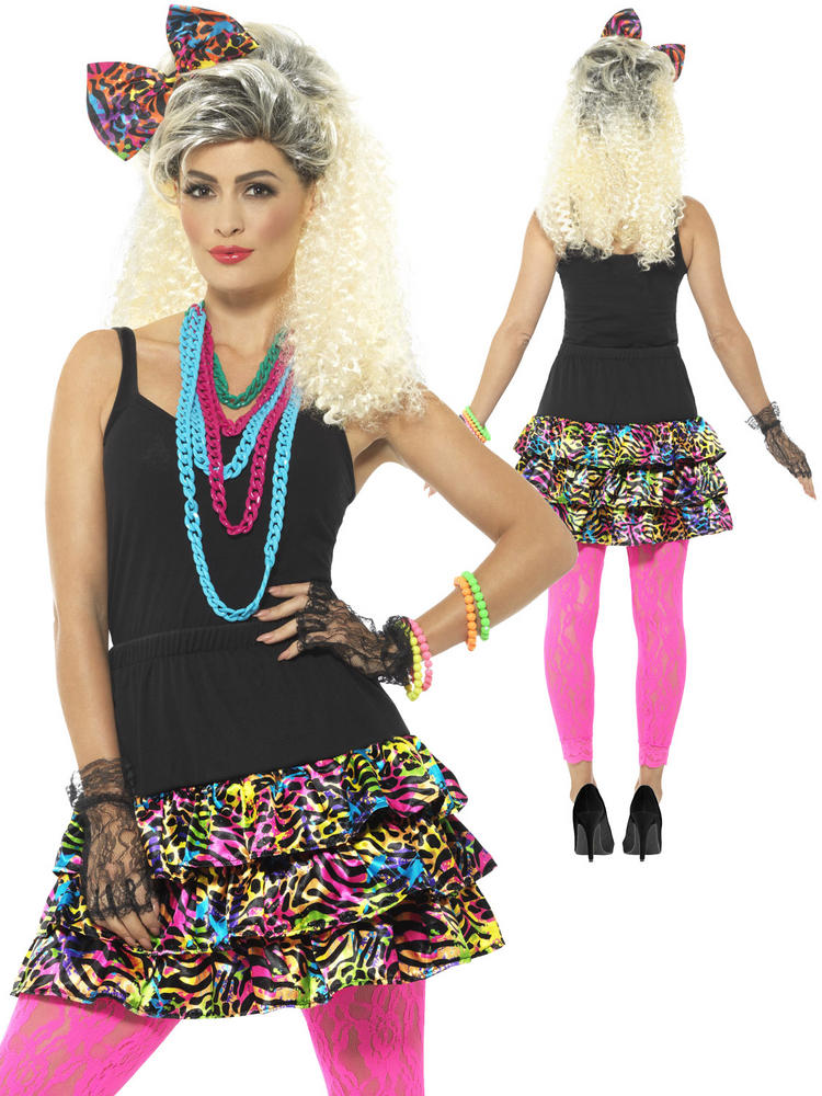 Ladies 80s Party Girl Kit