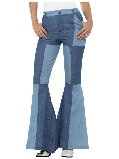 Ladies Deluxe Flared Trousers
