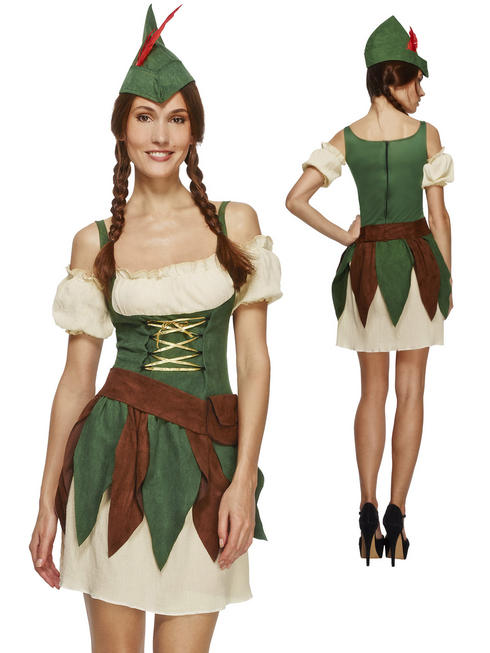 Ladies Fever Outlaw Warrior Costume