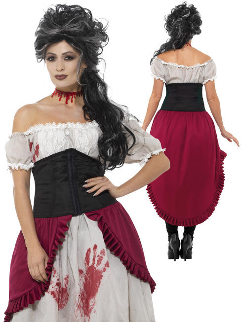Ladies Victorian Slasher Victim Costume