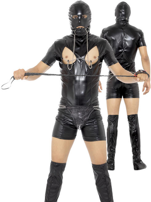 Men's Bondage Gimp Costume
