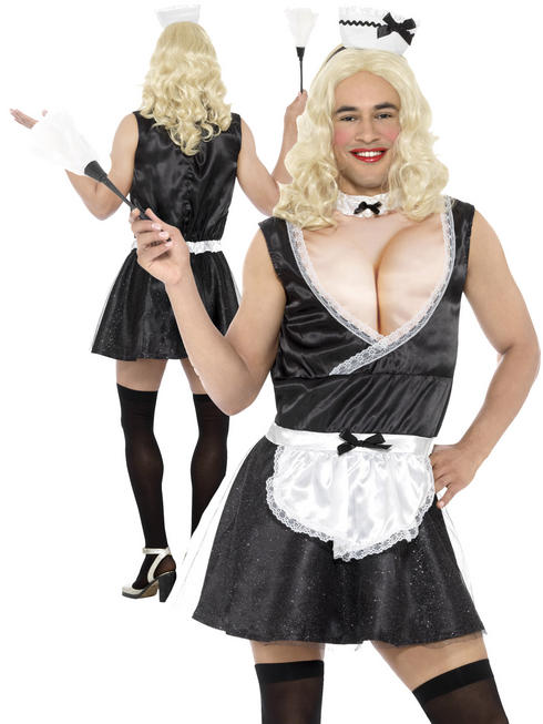 Men's French Maid Costume