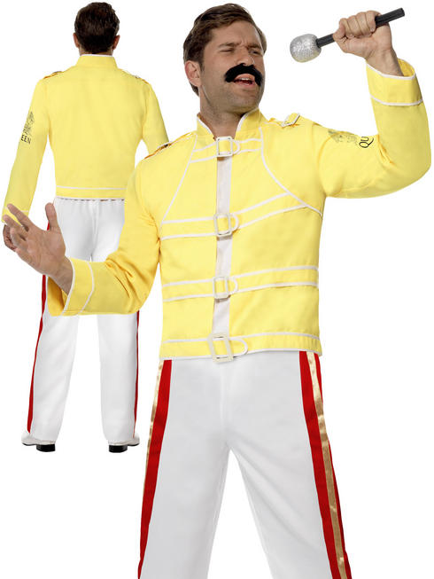 Men's Queen Freddie Mercury Costume