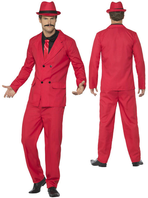 Men's Zoot Suit Costume