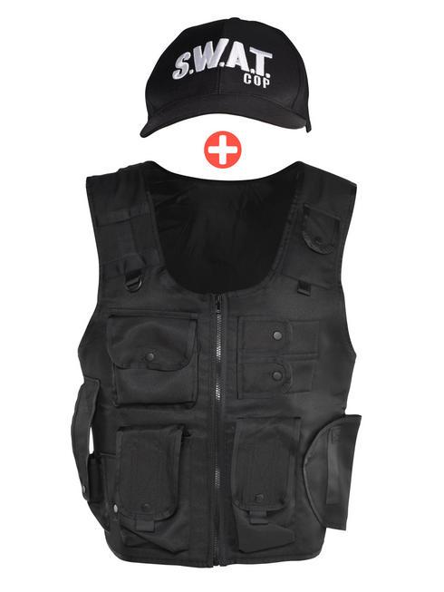 Adult's Swat Vest & Cap