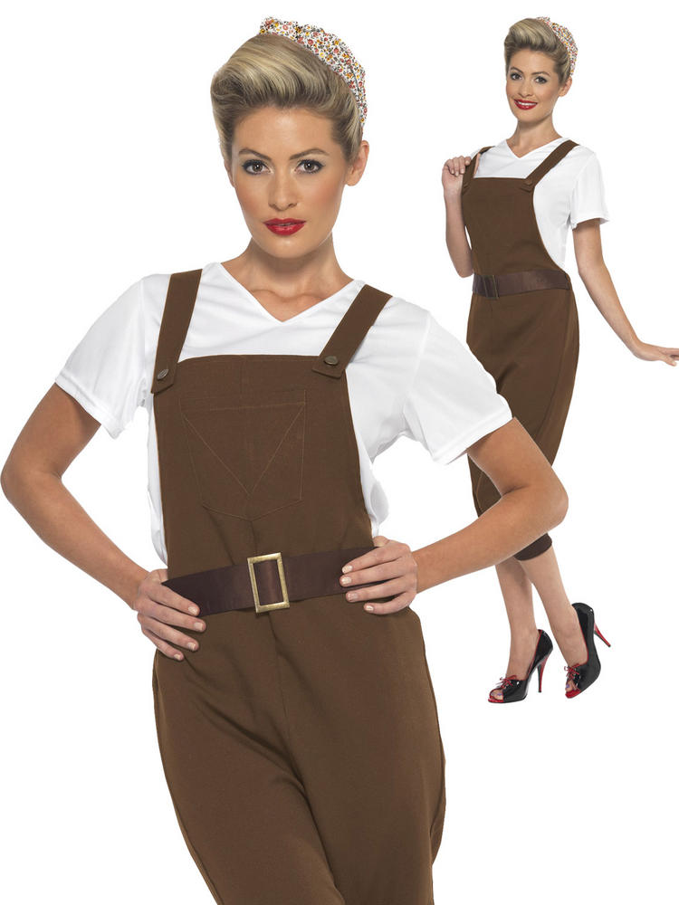 Ladies WWII Land Girl Costume