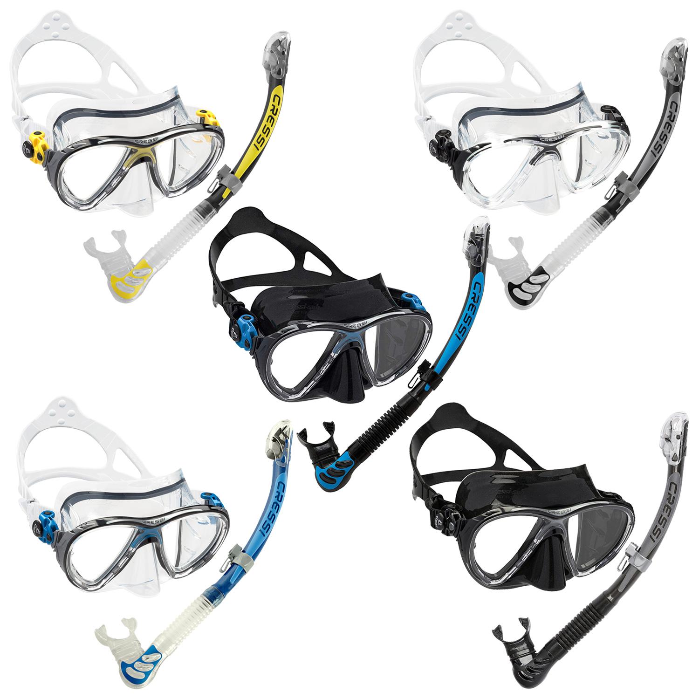 Cressi Unisex-Youth Rocks Pro Dry Children Mask Fins Snorkel Set