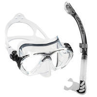 Cressi Big Eyes Evolution Mask + Alpha Ultra Dry Snorkel
