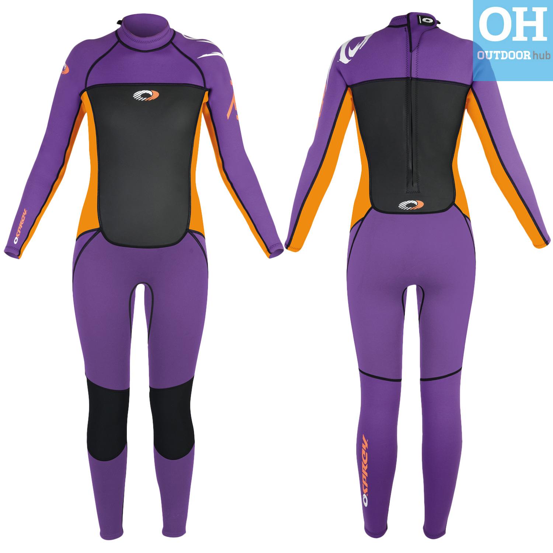 Boys-Girls-Osprey-Origin-Full-Length-3-2mm-Wetsuit-Junior-Long-3mm-Kids-Surf thumbnail 58