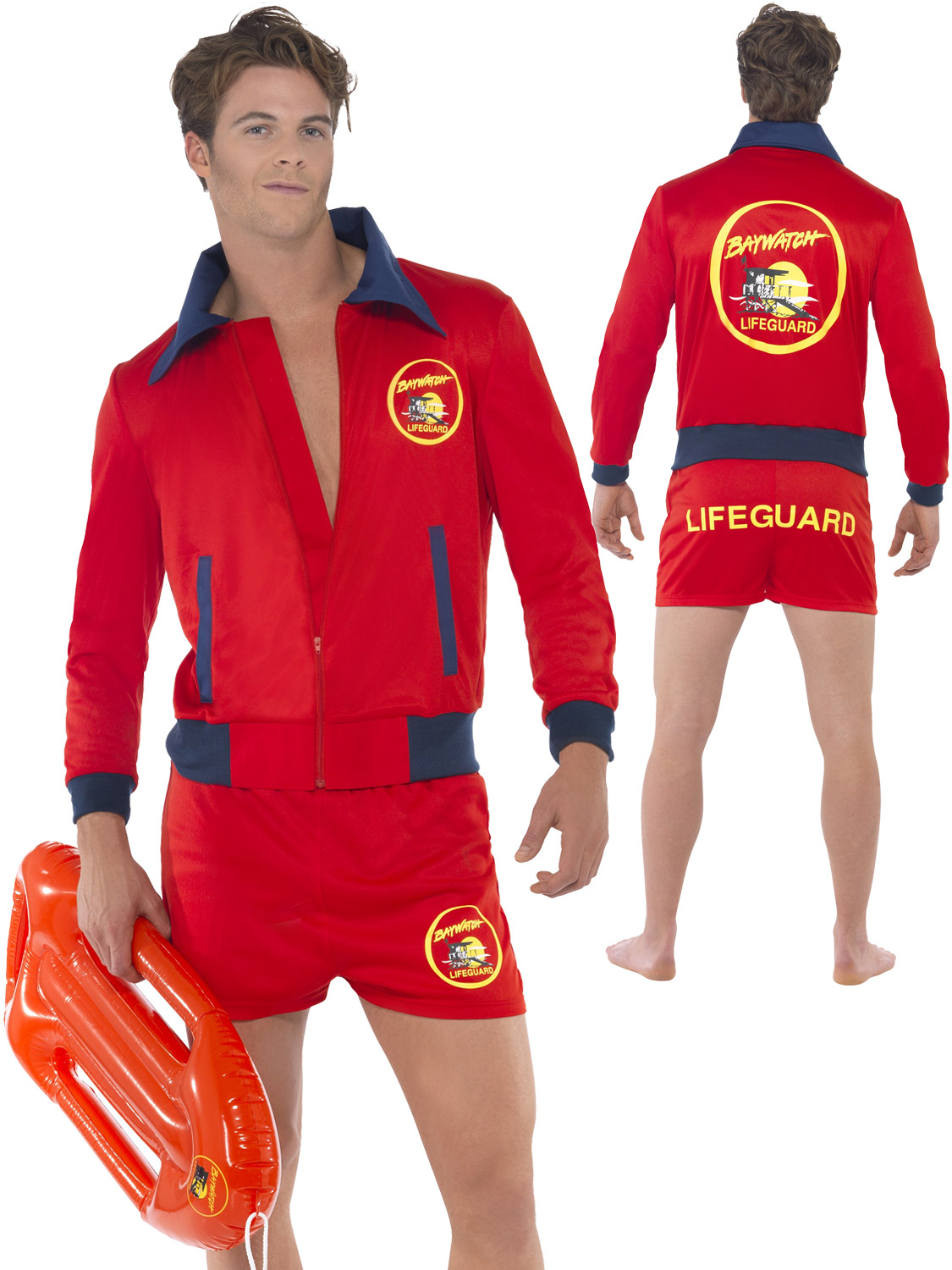713c0de2227a Men s Deluxe Baywatch Costume