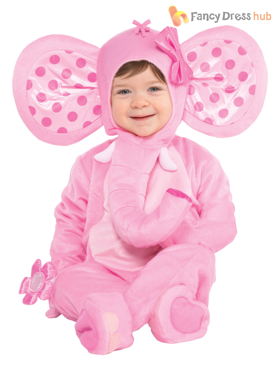 Baby-Toddler-Animal-Costume-Boy-Girl-Zoo-Jungle-Fancy-Dress-Infant-Jumpsuit-Kids thumbnail 6