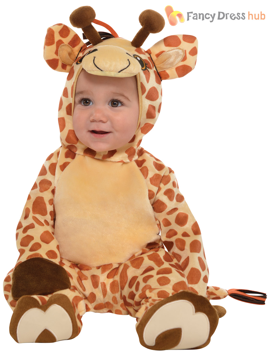 Baby-Toddler-Animal-Costume-Boy-Girl-Zoo-Jungle-Fancy-Dress-Infant-Jumpsuit-Kids thumbnail 15