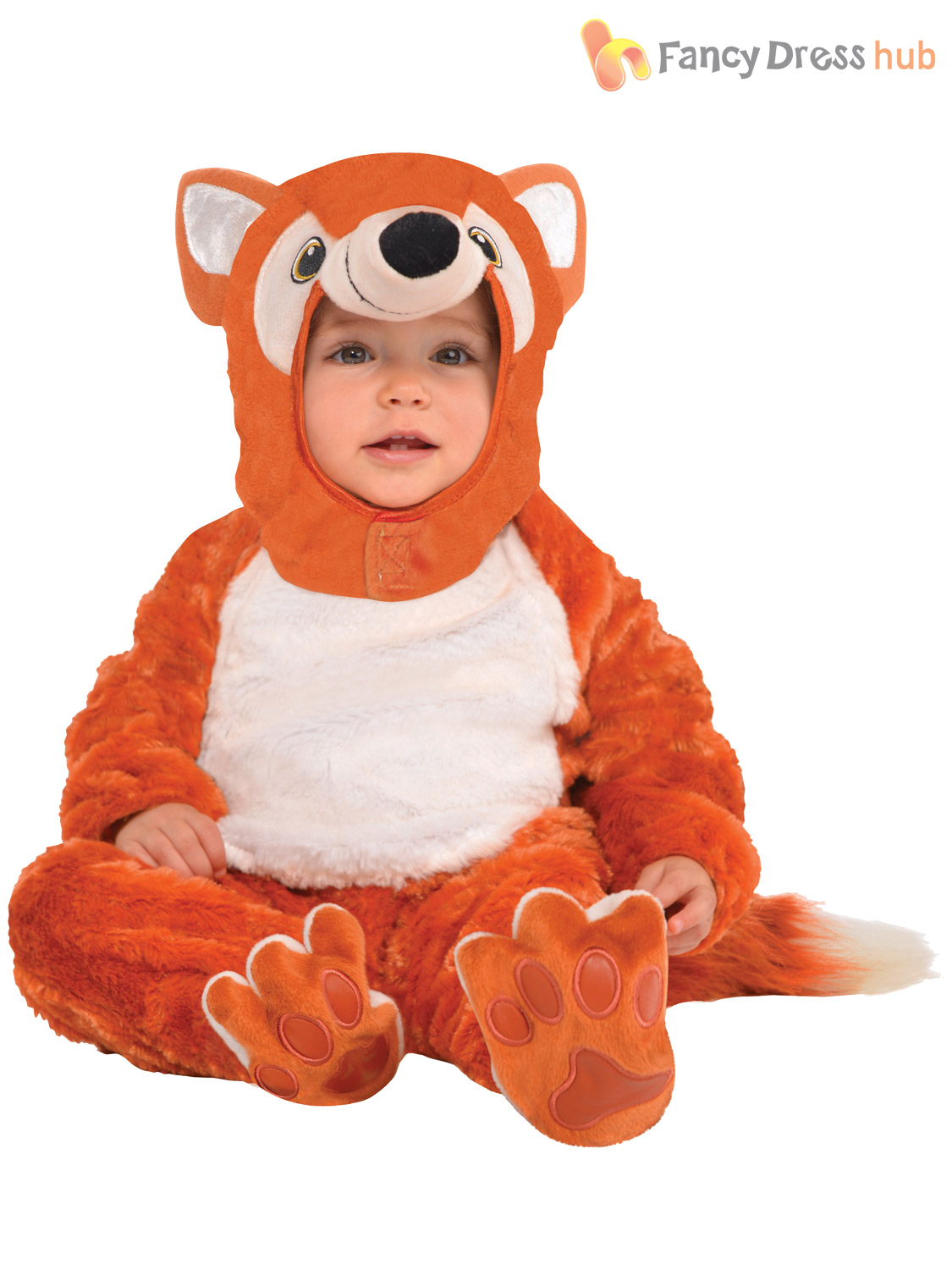 Baby-Toddler-Animal-Costume-Boy-Girl-Zoo-Jungle-Fancy-Dress-Infant-Jumpsuit-Kids thumbnail 9