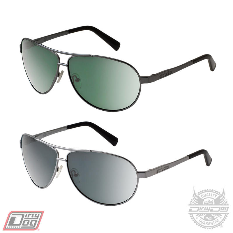 Dirty Dog Doffer Silver Sunglasses