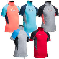 Gul Junior Short Sleeve Rash Vest