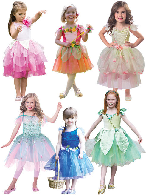 Girl's Fantastic Fairies Costume