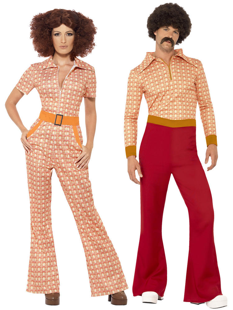 Adults 70s Authentic Chic Guy Costume