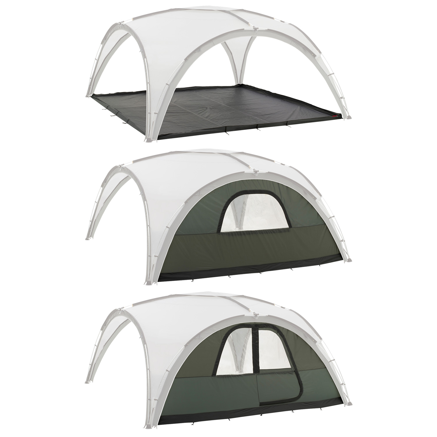 All the accessories you need to go with your Coleman Event Shelter Deluxe - Wall with Window u0026 Door Wall with Window and Zippable Groundsheet ...  sc 1 st  eBay & Coleman Deluxe Event Shelter 4.5X4.5M 15X15 Gazebo Accessory Wall ...