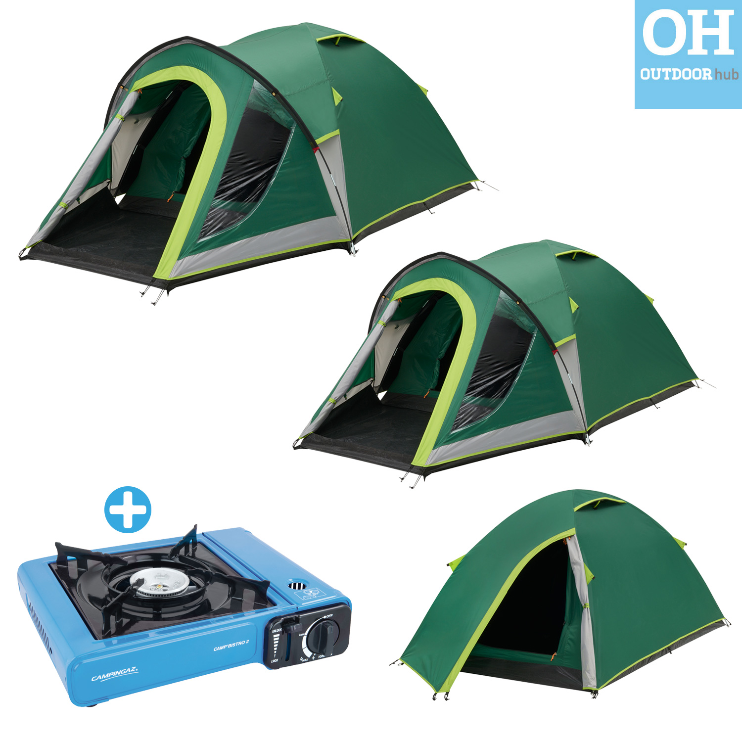 Coleman Kobuk Valley Tent 2 3 4 Man Person Blackout Dome Camping Holiday Festiva