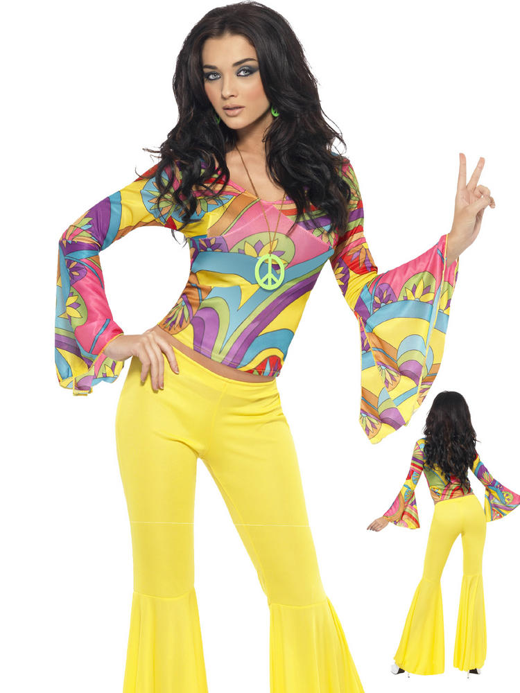 Ladies 70s Groovy Babe Costume