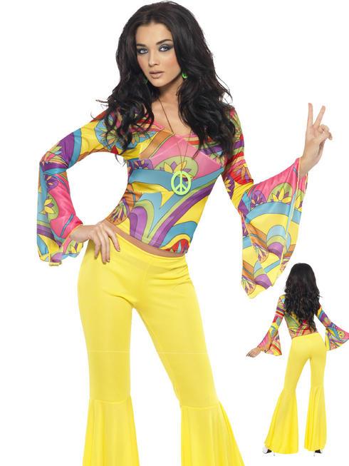 Ladies 70s Groovy Babe Costume